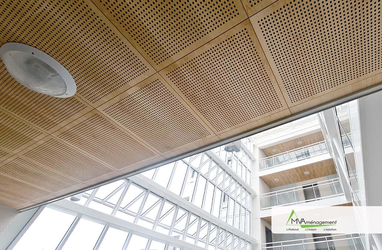 Plafond perforé Tours 37