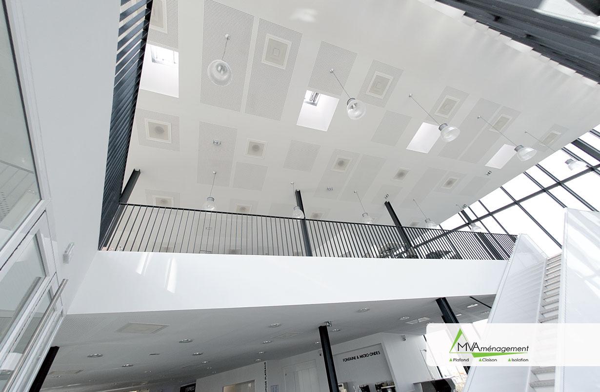 Plafond RIE Tours